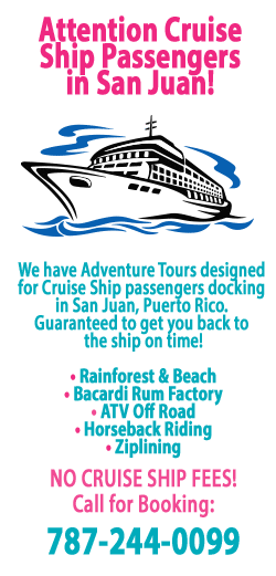 adventures for cruise ship passengers